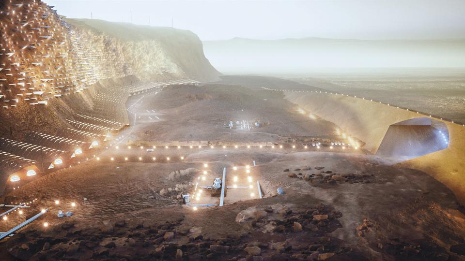 Ангараг гариг дээр байгуулагдах Нюва хотын анхны зургууд цацагдлаа (фото 3)