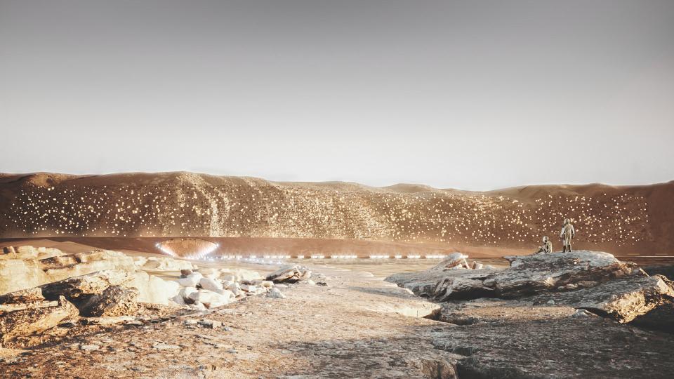 Ангараг гариг дээр байгуулагдах Нюва хотын анхны зургууд цацагдлаа (фото 2)