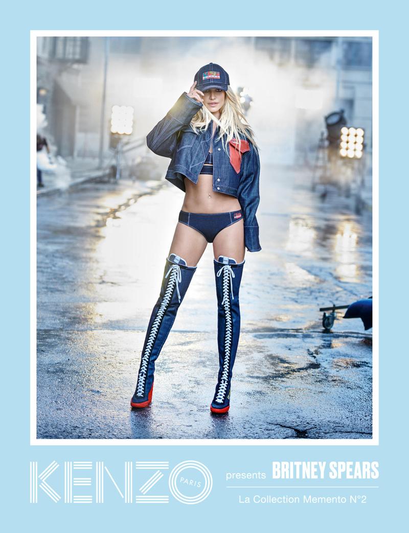Попын гүнж эргэн ирлээ Бритни Спирс Kenzo брэндийн сурталчилгаанд тоглолоо (фото 4)