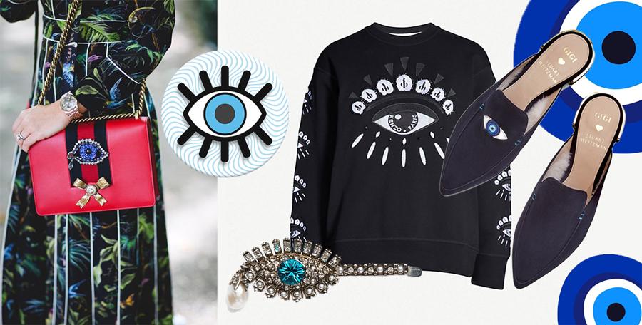 """Загварын ертөнцөд дэлгэрсэн """"Чөтгөрийн нүд"""" хэмээх бэлгэ тэмдэг ямар утга учиртай вэ? (фото 1)"""