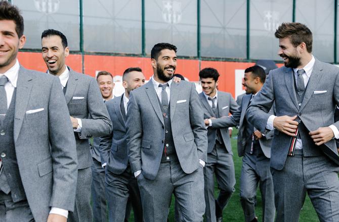 Thom Browne брэнд Барселона багийг хувцаслалаа (фото 5)
