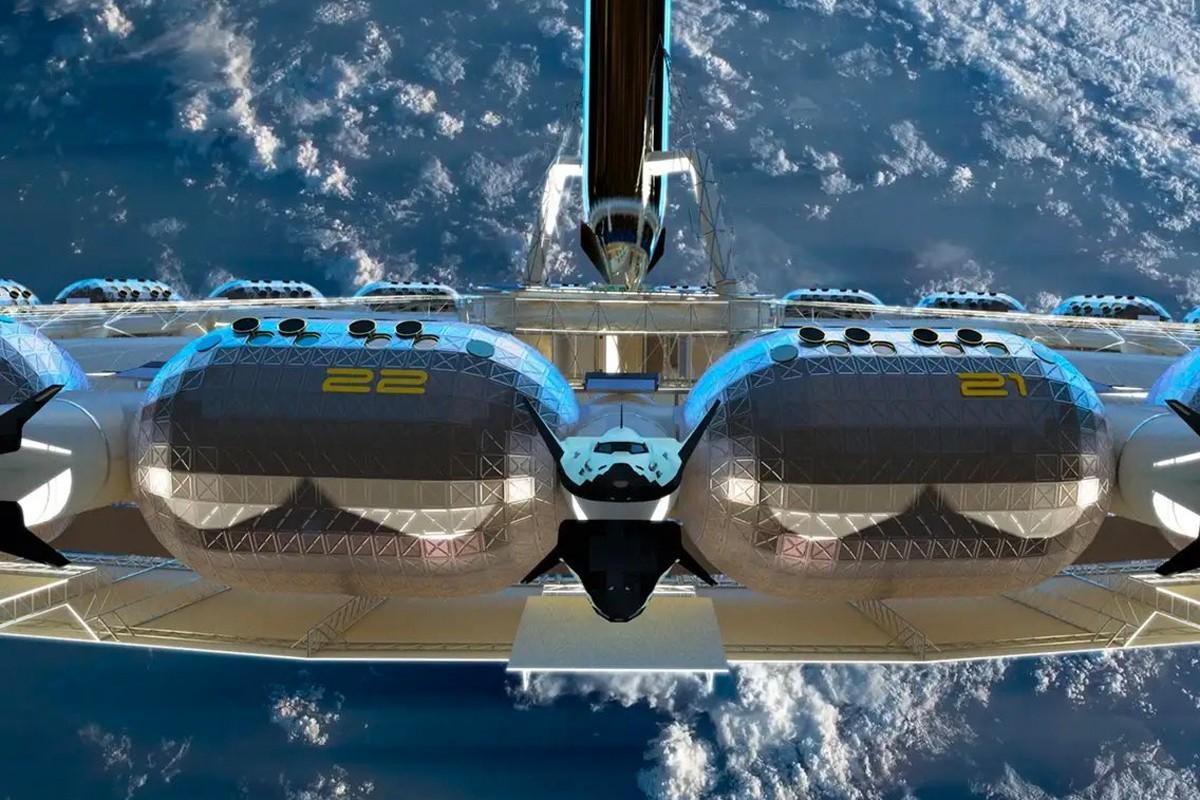 Хүн төрөлхтөнд зориулсан анхны сансрын зочид буудал 2027 онд ашиглалтад орно (фото 1)