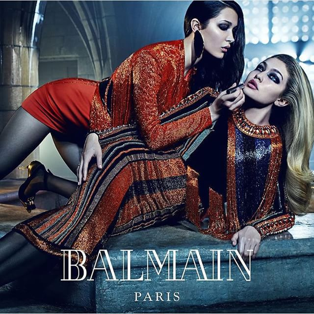 @BalmainParis Campaign by @Mario_Sorrenti_2 Love love Love You @olivier_rousteing ️