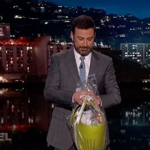 @JimmyKimmel is a 49-year-old man who stills gets an #Easter basket from his mother... *LINK IN BIO*