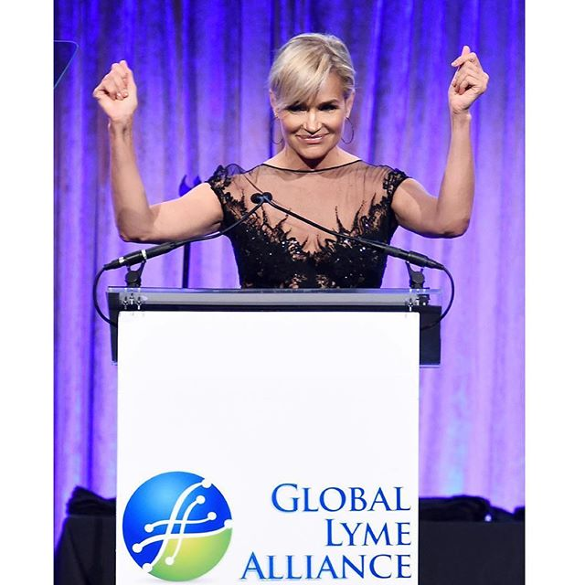 I am so proud of you everyday. You spoke for all of us! Thank you 2 million!!! -- Repost from @yolanda.hadid   I struggled to speak on this stage for 4 years but I danced my way to the mic last night feeling alive and grateful for a second chance! Proper diagnostics and a cure affordable for all is what keeps me awake at night....... it makes my own remission bitter sweet as I wish for all my fellow lyme warriors to live the healthy life they deserve to live!!! #WeMustFindACure #LymeDiseaseAwareness @globallymealliance