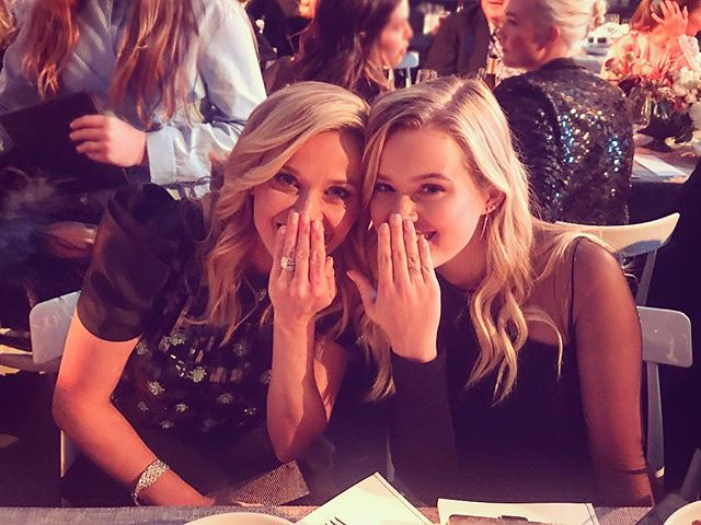 Look! It's Legally Blonde and the sequel, literally. Congrats to @reesewitherspoon (and her mini me @avaphillippe too) on winning last night's WSJ Innovator award.          I wrote the cover story on the feminist filmmaking pioneer, on stands Saturday!