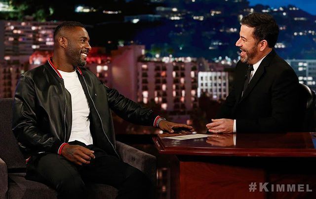 Jimmy's back with the Emmy-nominated, Golden Globe-winning @IdrisElba!