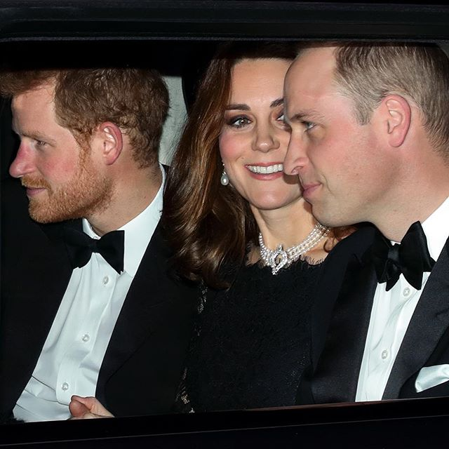 Spotted: #PrinceHarry, #KateMiddleton and #PrinceWilliam arriving at #WindsorCastle to attend the 70th wedding anniversary dinner of #QueenElizabeth II and #PrincePhilip #buro247singapore