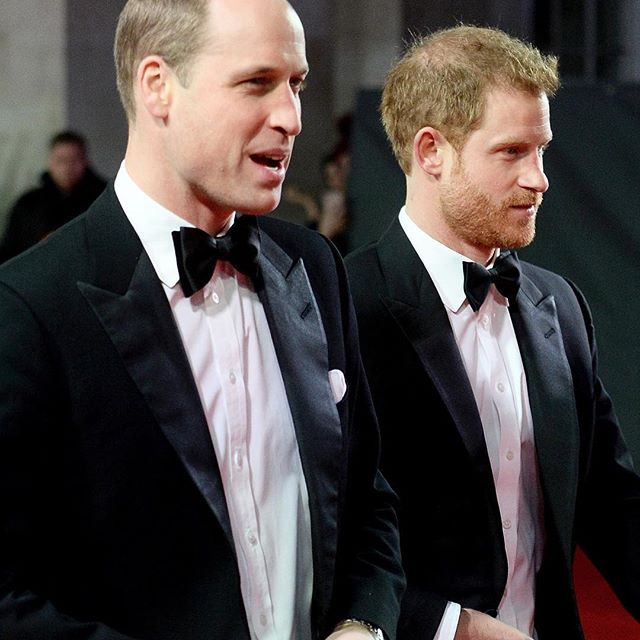 #PrinceWilliam and #PrinceHarry (rumoured #Stormtroopers) attend the premiere of #StarWarsTheLastJedi in #London #Buro247Singapore