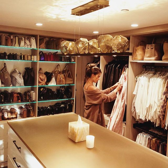 Weekend fun ... organizing my new dream closet     #californiaclosets #ccbeforeafter #cccollab