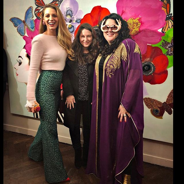 SO PROUD of @ashleylongshoreart  one of the most fabulous, fun, empowered, she-heroes I know. She s one of my favorite artists. And now a dear friend. (Yes I stalked her too). Love you. Huge congrats on taking over @bergdorfs !