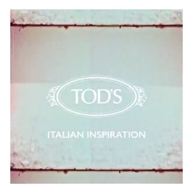 so happy to be in the @tods SS18 campaign: discover #ItalianInspiration! #Tods_Ambassador