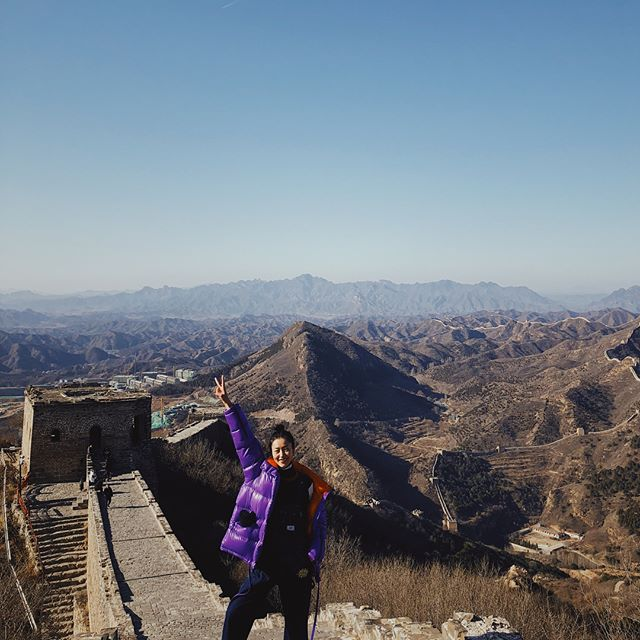 Visiting the incredible landmark of China! #GreatWall