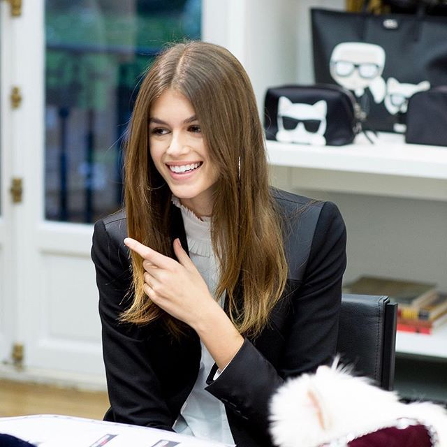 #KARLLAGERFELD is proud to announce it is partnering with the most-wanted model @kaiagerber, to introduce the  KARL LAGERFELD x KAIA  capsule collection in Fall 2018. Stay tuned...