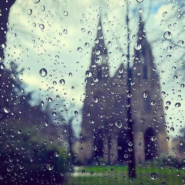 The rain's very important. That's when Paris smells its sweetest.  -Audrey Hepburn