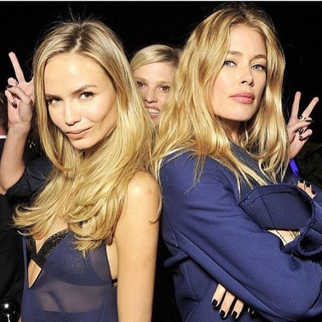 Happy Birthday Beauty @doutzen  Love This Picture   Photobombing @lara_stone   #GoodTimes