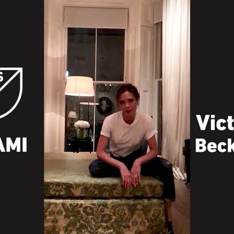 Amazing @davidbeckham ! We can t wait to spend more time in Miami! x VB  #FutbolMiamiMLS @futbolmiamimls  @marcanthony @jlo @alexmorgan13 @willsmith @neymarjr @tombrady
