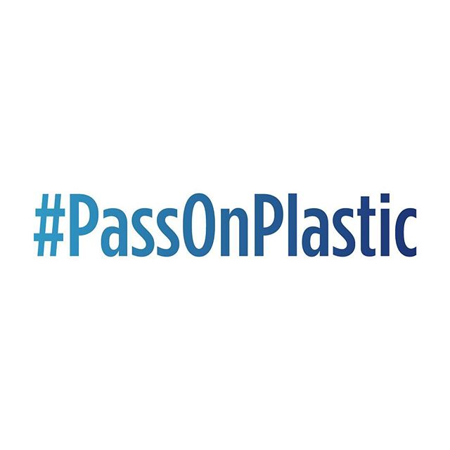 I've pledged to reduce single use plastic in my life and support @weareprojectzero and @skyoceanrescue.  Refuse plastic straws and cutlery, carry a refillable water bottle and coffee cup, and bring your own bag to the store.  Together we can do this!  Join me and take the challenge to #PassOnPlastic