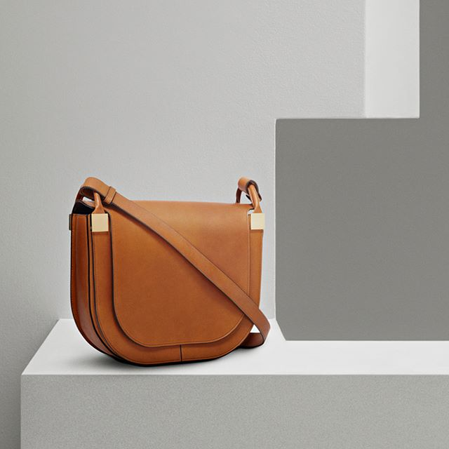 The new Half Moon Saddle Bag is now available at victoriabeckham.com and 36 Dover Street, London. #VBPreSS18 #VBDoverSt