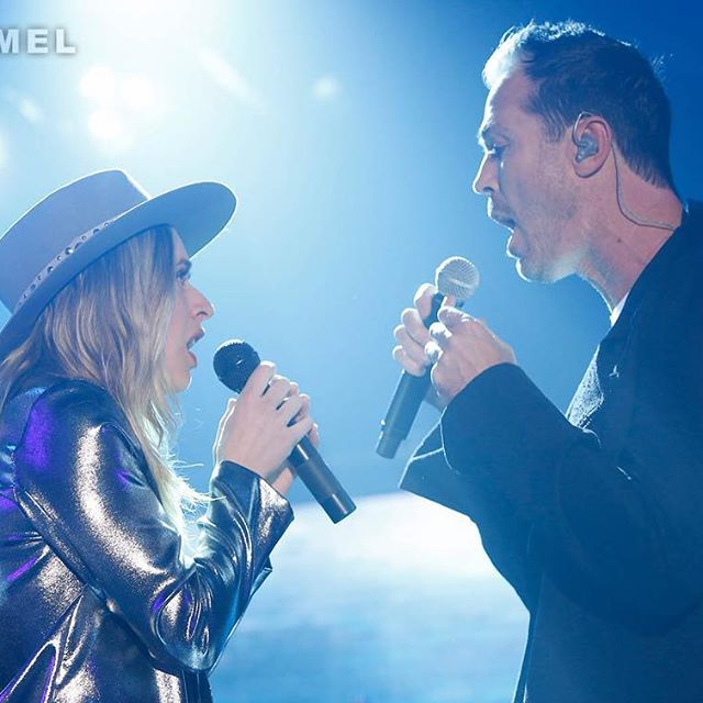 @ZZWard ft. Fitz! #Domino @FitzAndTheTantrums