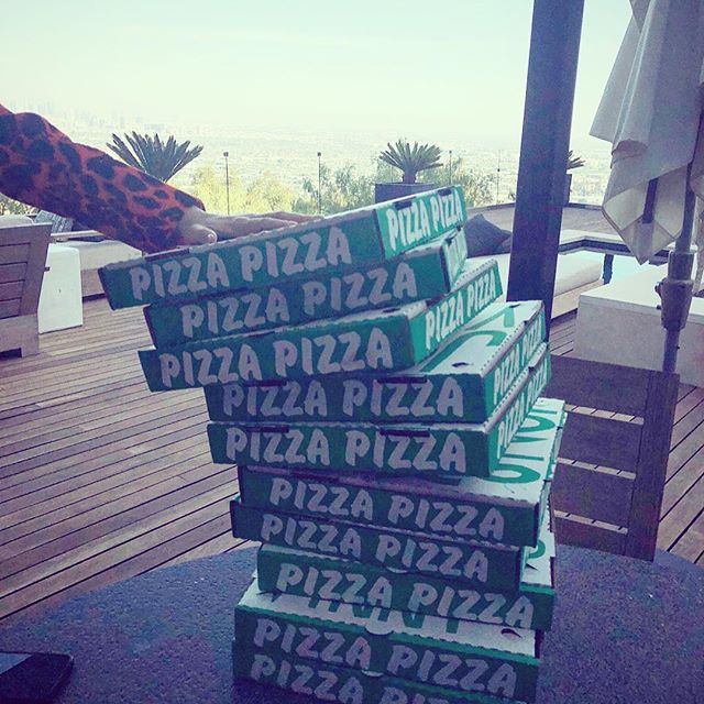 Leaning tower of Pizza (get it?) (sorry)