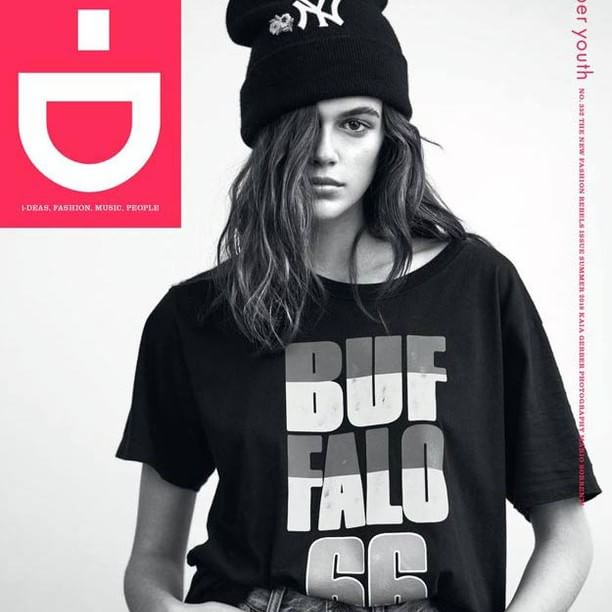 Кайя Гербер i-D сэтгүүлийн шинэ дугаарын нүүрэнд гарлаа.  Kaia Gerber fronts the new fashion rebels issue of i-D.  #kaiagerber #idmagazine