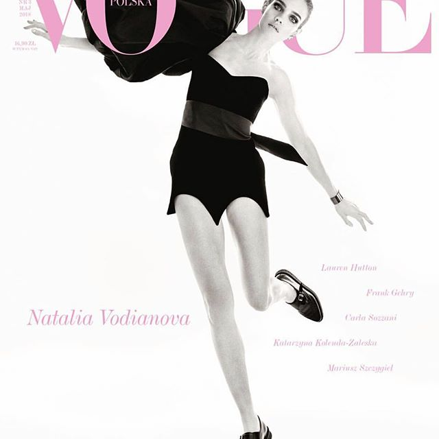 Love my @vogue.polska  Thank you #malgosiabela and @christian_macdonald_studio, @odilegilbert_official,  @petros_petrohilos @verodidry  for styling, hair and make up for my beautiful cover story