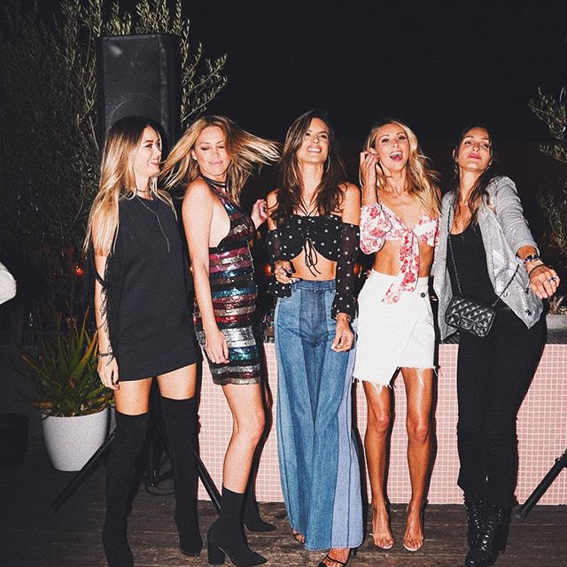 Kicking this Coachella weekend off in style last night at my @alebyalessandra party     #ALExREVOLVE