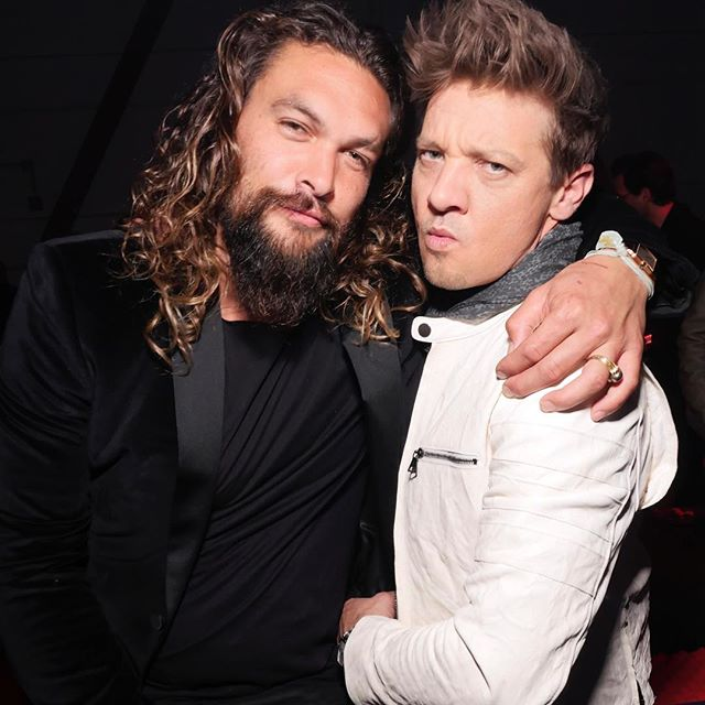#Aquaman and #Hawkeye at the #SantosdeCartier party in #SanFrancisco - check out #JasonMomoa, #JeremyRenner and other celebs on buro247.sg #Buro247Singapore