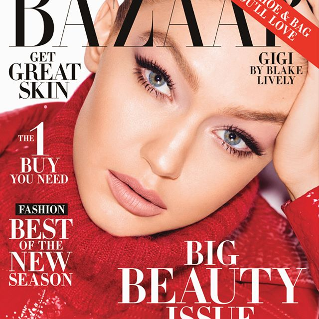 Very excited to be your May cover girl @harpersbazaarus !!! Thank you so much @glendabailey      big love to the whole team @marianovivanco @erinparsonsmakeup @joannahillman @nailsbymei @joeygeorge & to everyone who supported my 2017 HB cover and made it the best seller !!!! grateful. x