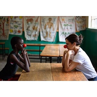 THE STORY I travelled to Kenya and saw amazing programs supported by Red Nose Day USA. Girls in these programs are using boxing classes to not only learn self defense, but also leadership - tapping into their girl power. I was so inspired by the young women I met there. And it s not just about being strong in the ring; these girls are future doctors, lawyers, and all around game changers who write their own stories, and will shape the futures of their communities. That s girl power.  #RedNoseDay #NosesOn  I'll share more about my trip to Kenya soon. In the meantime, get your very own Red Nose Day Spice Girls tee -and help to fund more incredible programs! Link in bio.