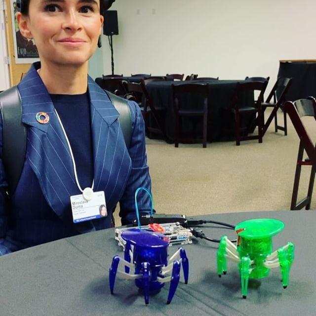 Controlling robots with the power of the mind   @singularityu