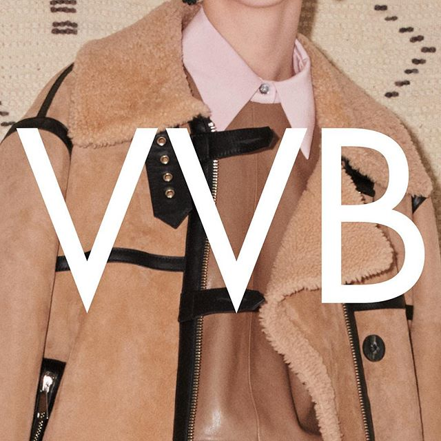 Winter is coming  Love this #VVBAW18 oversized jacket with aviator details, worn with a fluid silk shirt in rose pink. Available now at the link in bio or at 36 Dover Street London x Kisses