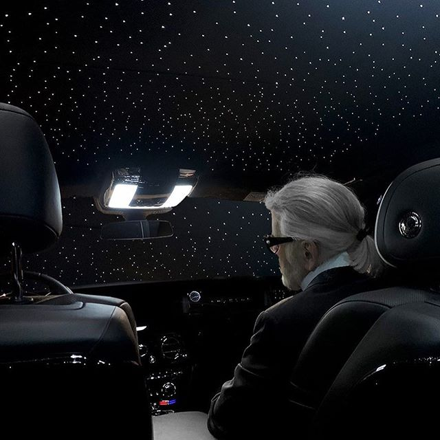 The real Karl in Space  #KARLLAGERFELD
