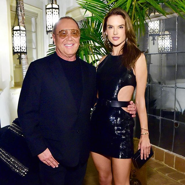 In good company ... with Mr Michael Kors   #korsLA #watchhungerstop