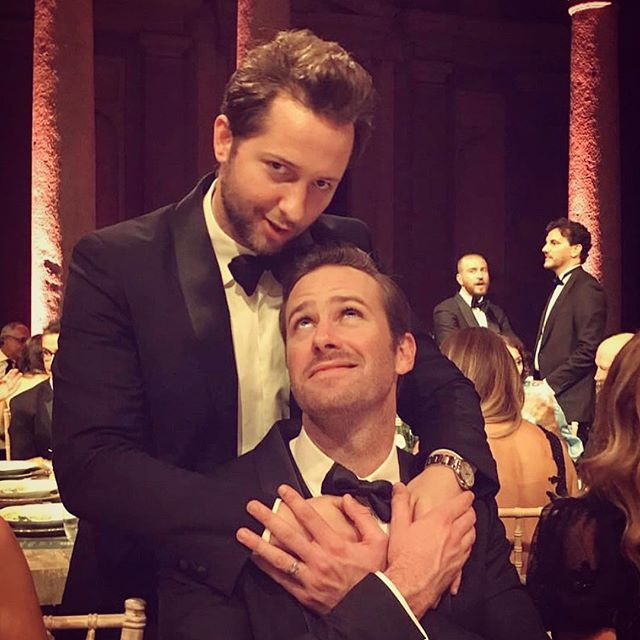 Since I m sitting here at jury duty and patiently waiting for an opportunity to honor my civic duty, I figured I d dig up this third degree #tbt from a night in Milan when I attempted to reenact my favorite scenes from  Call Me By Your Name  with @armiehammer. (For the record, he didn t respond to  Derek  once.) FYI: The best part of this is that the   credit is none other than @cindycrawford!