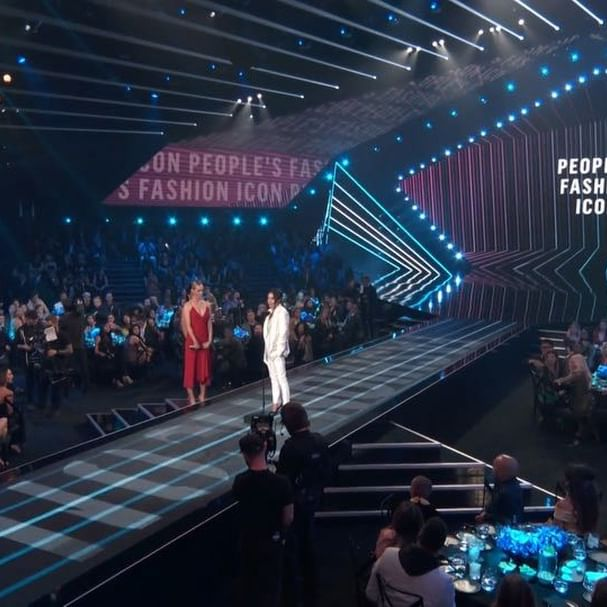I ve always told myself to dream big, and dream bigger. #girlpower Thank u @peopleschoice X vb