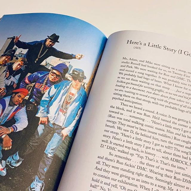 Together Forever- must have been one of the illest tours of all time. @beastieboysbook out now.