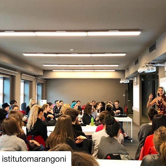 #Repost @istitutomarangoni  working Day    IM brand ambassador & scientific director @anna_dello_russo has just launched a very exciting contest called #brandyourself for 3rd year students at the Milano School of Fashion with @paolostella. Anna and Paolo briefed the students who are now already at work   Stay tuned! . . . #fashion #fashiondesign #brandambassador #fashionicon #influencer #fashioninfluencer