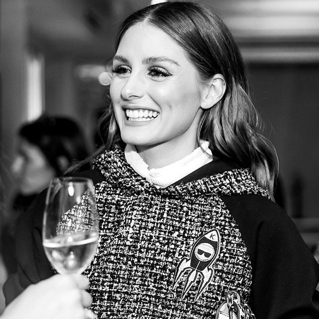 Who says a hoodie can t be chic? @oliviapalermo shows how in a structured tweed style from the Karl in Space collection