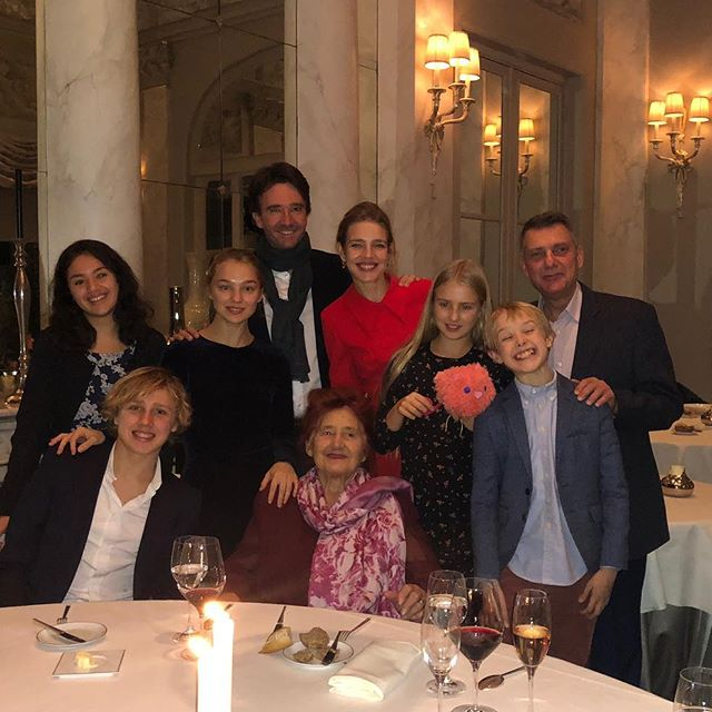 The best gift for this family is clearly an incredible meal and many many many Russian style toasts        happy 89th birthday grandma      ps: thanks for a delicious dinner treat @antoinearnault Семейное застолье с Бабуней во главе - ничего не может быть лучше, когда родные собираются вместе и тосты звучат на русском языке!         С твоим 89м днём рождения, моя дорогая Бабуничка!