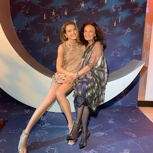 Over the moon   to be reunited with my beloved @therealdvf