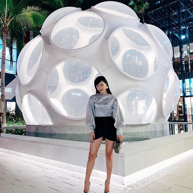 You should be here   Sparkling in Louis Vuitton exploring @miamidesigndistrict during The WKNDR #atMDD #adv
