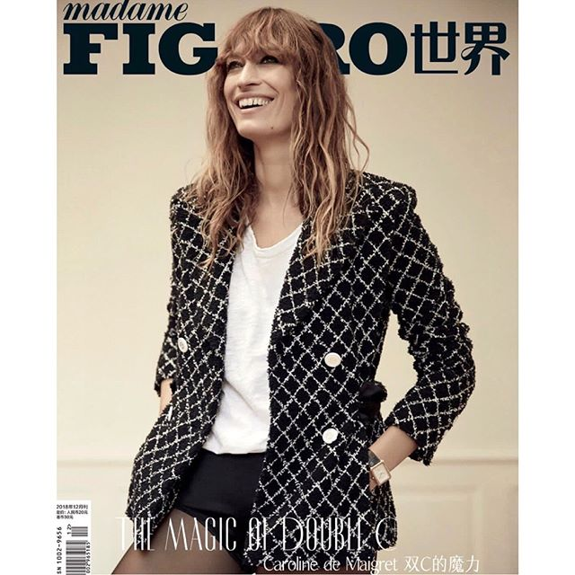 China    New Madame Figaro Cover story and interview #DecemberIssue by @hudsonphoto