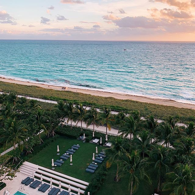 Ok Miami, I get it. Already planning my next trip here to escape the New York winter   @fssurfside