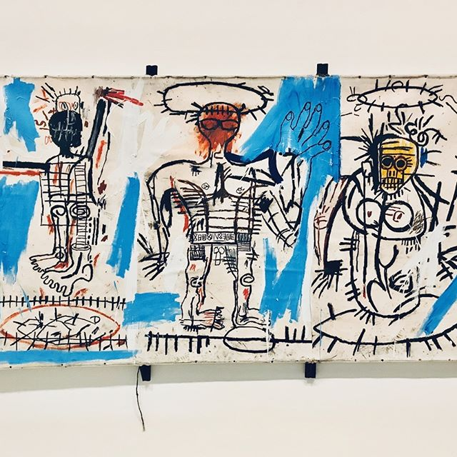 Beautiful #Basquiat exhibition at @fondationlv till January 14th