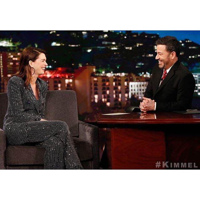 Fantastic #MatthewMcConaughey impression by @AnneHathaway tonight!   #SecretsWillSurface