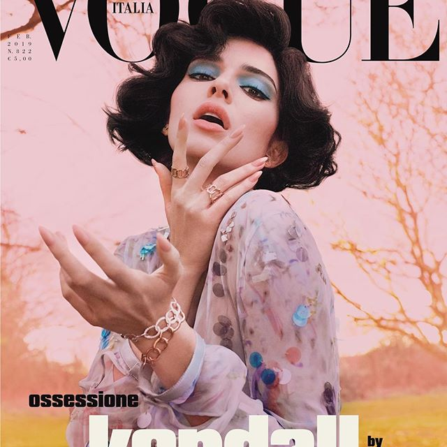 DRAMA. my @vogueitalia Feb. cover by @mertalas & @macpiggott !! one of my favorite shoots i ve ever done! can t wait for you guys to see the rest. dream come true!     OSSESSIONE @gb65