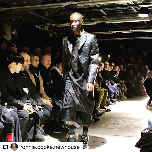 #Repost @ronnie.cooke.newhouse with @get_repost @commedesgarcons     Comme des Garcons Homme Plus Automne/Hiver2019  Strong