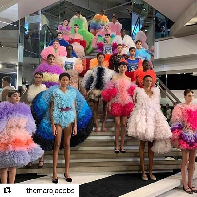 #Repost @themarcjacobs        Thank you @tomokoizumi for bringing all your talent, color and joy to our #marcjacobsmadison shop and sharing your collection with the world. Thank you @kegrand